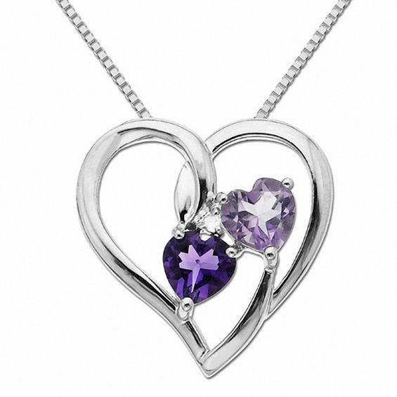 5.0mm Heart-Shaped Purple...