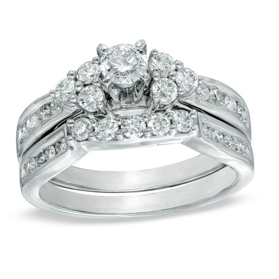 7/8 CT. T.W. Diamond...