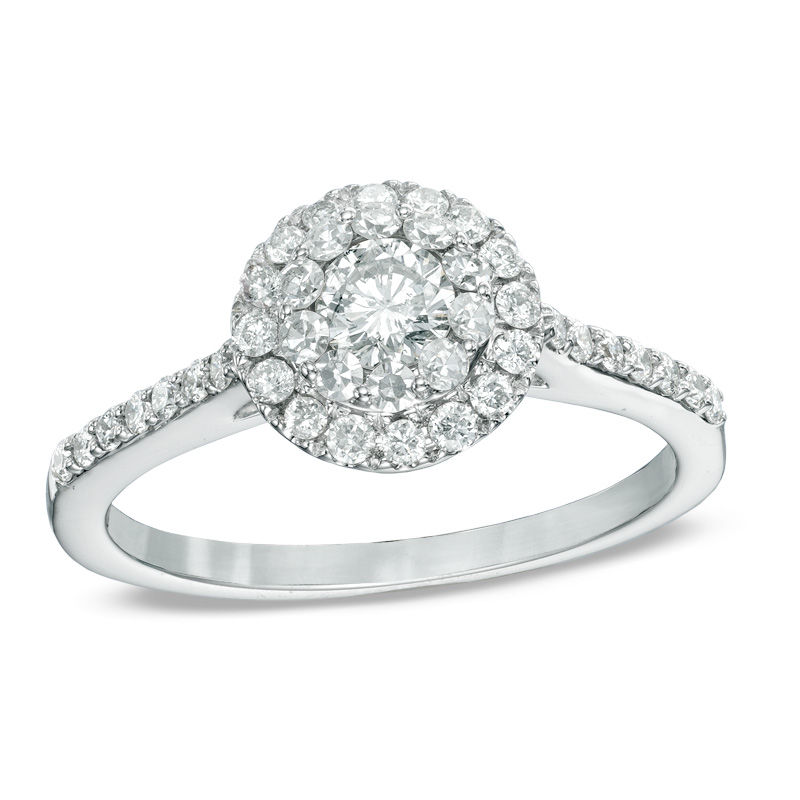 round carat enhance itm ring white rings gold diamond cut engagement ct wedding ps solitaire