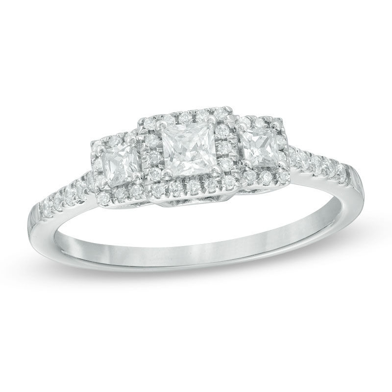p ae tw t ring engagement wedding ct diamond white bypass present v future w rings in gold past