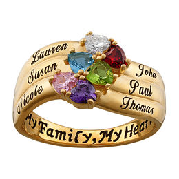 323fcc59ed37f Mothers Rings and Family Personalized Jewelry | Personalized Jewelry ...