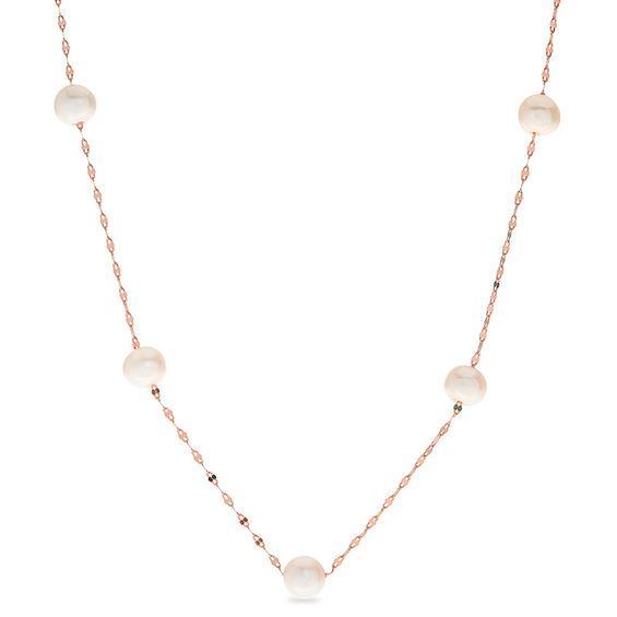 5 5 6 0mm Baroque Cultured Freshwater Pearl Station