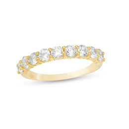 1 CT. T.W. Diamond Wedding Band in 10K Gold